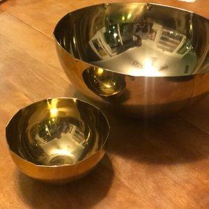 CB2 pinched edge bowl set